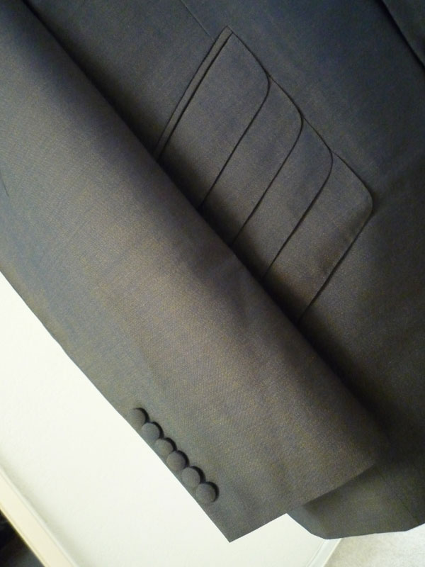 For The Suits editor, Van Cleef's, tonik suit as made by Thick as Thieves LA. Fabric from Ace Face Clothing.